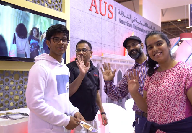 AUS at International Education Show 2018