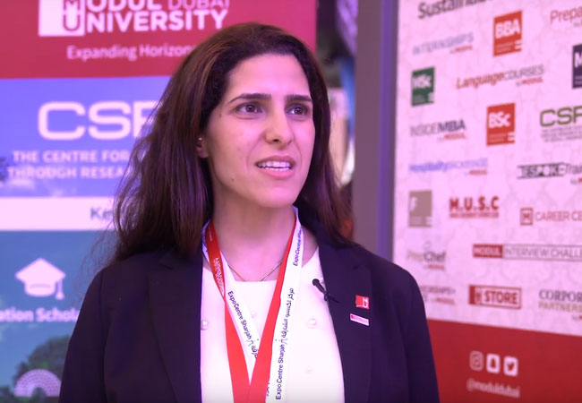 Modul University at The International Education Show 2018