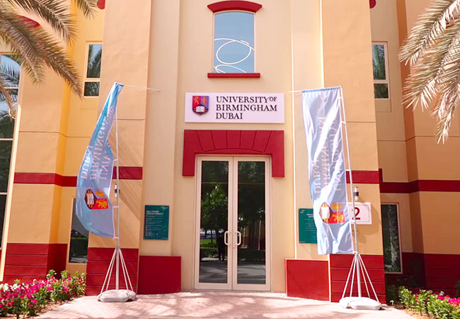 Open Day at University of Birmingham Dubai