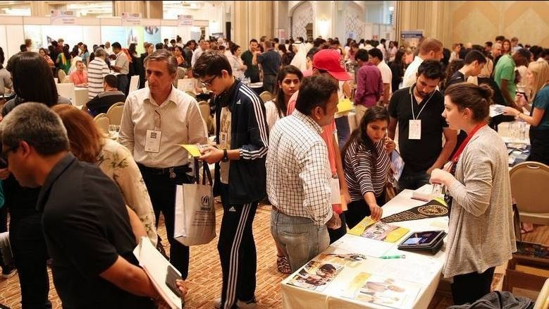 Hundreds turn up for Sharjah's higher education fair