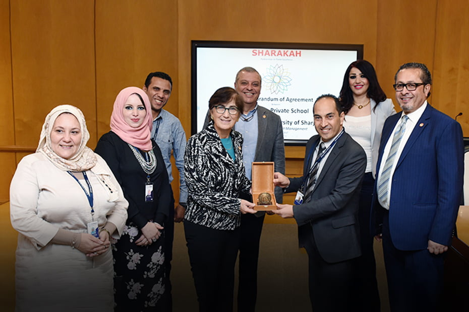 AUS signs Sharakah agreement with Al Zuhour Private School